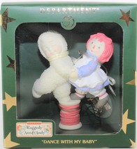 Dept 56 Snowbabies Dance With My Baby Raggedy Ann & Andy Ornament - $27.72