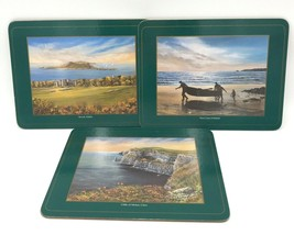 "3 Pimpernel Ireland Scenery Placemats  West Coast Howth Cliffs SMALL 11""... - $22.99"