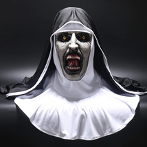 Hot New 2018 The Nun Full Head Mask Cosplay Costume Conjuring Valak Horr... - $51.09 CAD