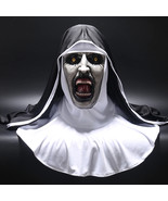 Hot New 2018 The Nun Full Head Mask Cosplay Costume Conjuring Valak Horr... - $43.67