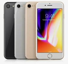 Apple I Phone 8 4G Lte Unlocked Smartphone w/ 100% Batt. Capacity - $238.00