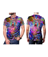 Psychedelic Face Trippy Tongue DMT Men's T Shirt - $19.99
