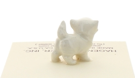 Hagen-Renaker Miniature Ceramic Cat Figurine Tiny White Persian Kitten image 3
