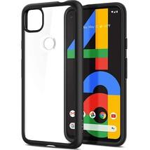 Spigen Ultra Hybrid Designed for Google Pixel 4a Case (2020) - Matte Black - $27.99