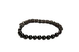 D'Amico Mens Bead WAU0326 Bracelet Beauty Nero Black Size U - $74.84