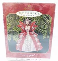 Hallmark keepsake Christmas ornament holiday Barbie handcrafted - $9.90
