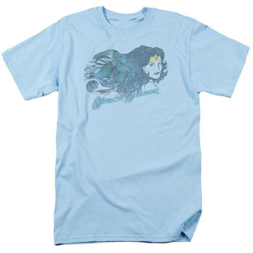 Wonder Woman retro style T Shirt vintage DC Comics Super Friends JLA305