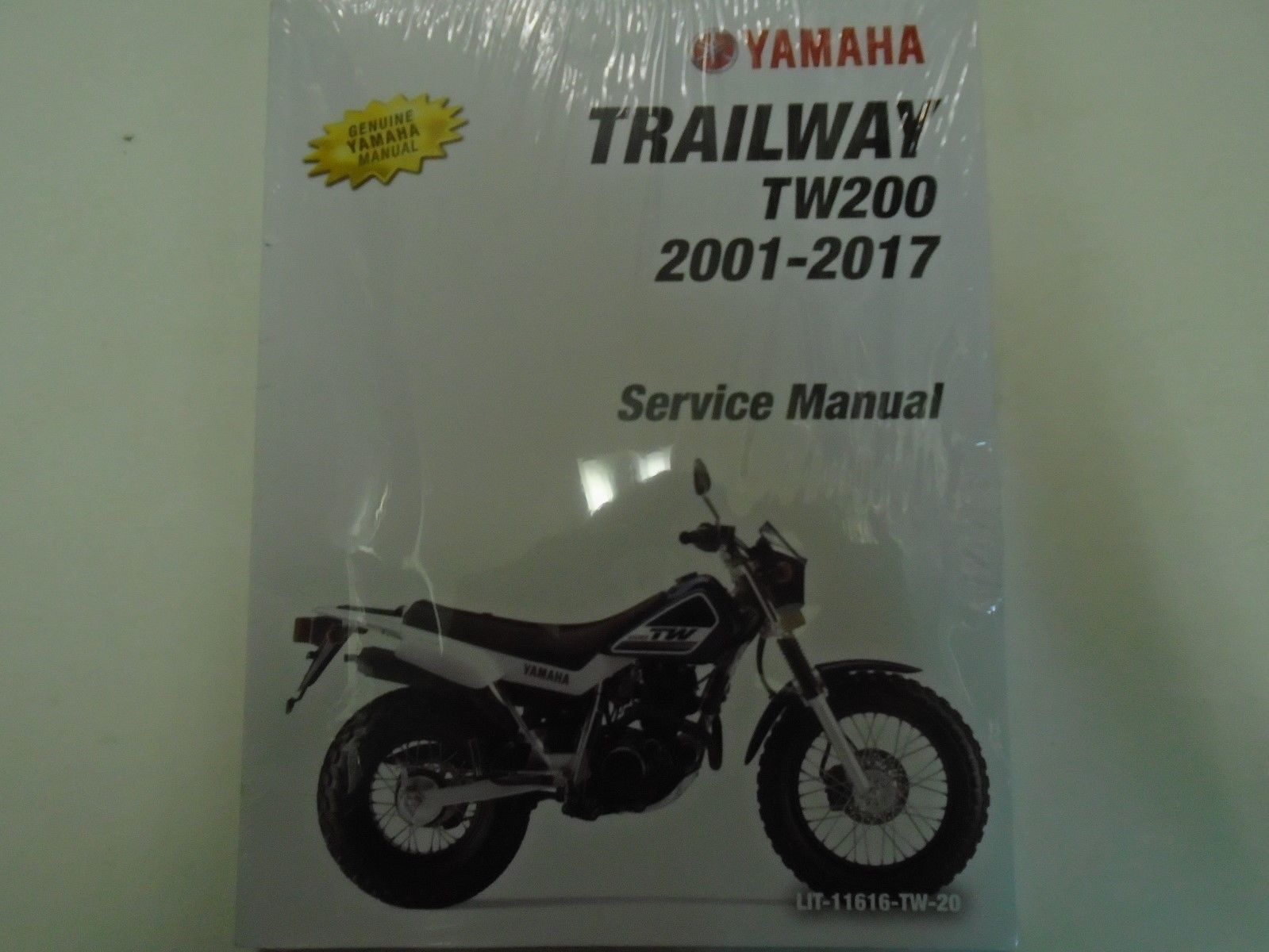 2013 2014 2015 2016 2017 YAMAHA TW200 TRAILWAY TW 200 Owners Service Manual  NEW