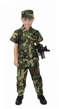 Rothco Kids Camouflage Soldier Costume, 4-6 Year - $16.54