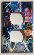 Star wars characters poster Light Switch Power Outlet Cover Plate Home decor image 2