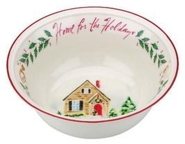 "Lenox, Holiday Inspirations, Home for the Holidays 8"" Bowl  ($40) NIB - $24.50"