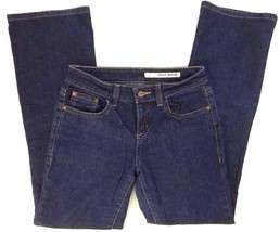 DKNY SOHO Bootcut Jeans Flare Medium Wash Low Rise Blue Size 4 L31 - $17.77