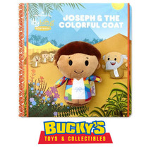 Joseph and the Coat of Many Colors Hallmark Storybook & itty bittys Bibl... - $34.60