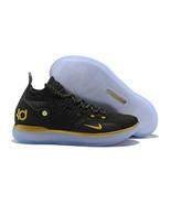 Men's Zoom KD11 Shoes Kevin Durant Black Basketball Shoe - $93.99