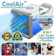 CoolAir ™ Personal Air Conditioner -Mini USB Portable Air Conditioner - $34.99