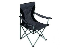 Perel FP167 - Chaise de Camping, Gris  - $30.89