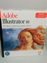 Adobe Illustrator 10 MAC Upgrade - $9.49