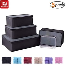 Packing Cubes for Travel Accessories Compression Luggage Organizer with ... - $315,23 MXN
