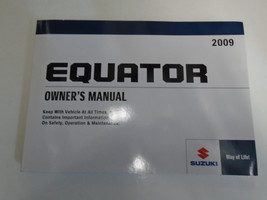 2009 Suzuki Equator Factory Owners Manual Oem Factory Book X Brand New - $59.35