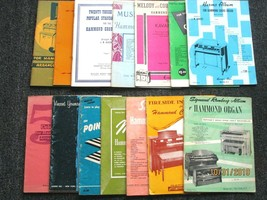 Lot of 14 Music Song Books for the Hammond Organ- D-10 - $11.83