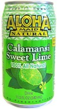 Aloha Maid Natural Drink, Calamansi Sweet Lime, 11.5 Ounce (Pack of 24) - $62.26