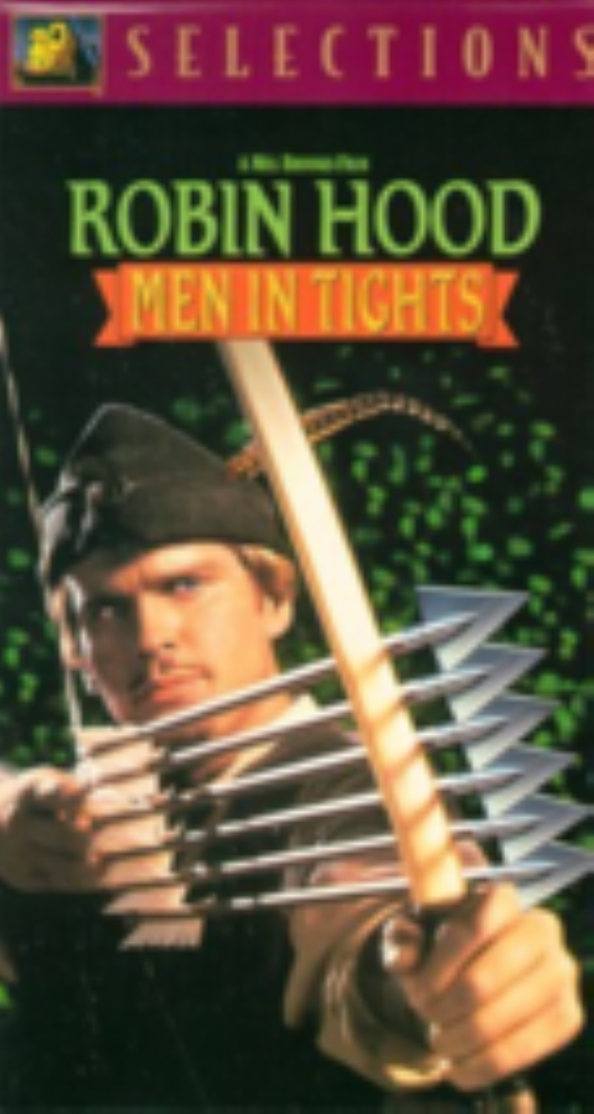 Robin Hood - Men in Tights Vhs