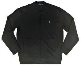 $125.00 Ralph Lauren Big and Tall Performance Full Zip Gray Track Jacket  XLT - $72.00