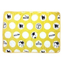 Frenchie French Bulldog Super Soft Fleece YELLOW Pet Bed Blanket - ₹1,519.23 INR