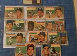 1956 all star topps baseball cards lot(15) - $396.00