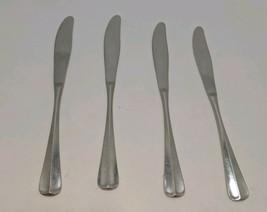 Gorham Colonial Tipt Stainless Small Dinner Dessert knife set of 4 knives - $39.59