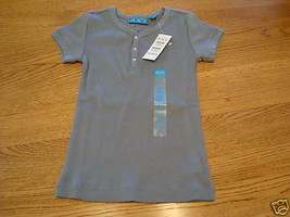 The Childrens Place girls S 5/6 ribbed youth T shirt NWT ^^ - $3.73