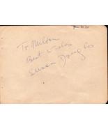 SUSAN DOUGLAS Autograph. Signed on album page. - $12.38