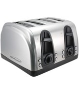 Brentwood Appliances TS-445S 4-Slice Toaster with Extra-Wide Slots - $68.81