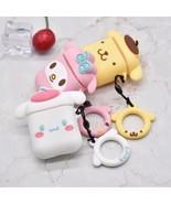 Japanese Cartoon Apple AirPod Case Charging Earphone Cover Kawaii Cute K... - $5.99