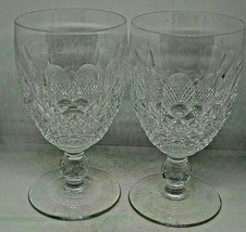 """Waterford Crystal Set Of 4 Colleen Pattern Cordial Glasses 4 1/2"""" - $140.25"""