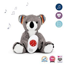 Plush Animal Toy Music Soother, White Noise & Heartbeat Musical Melodies... - $24.47
