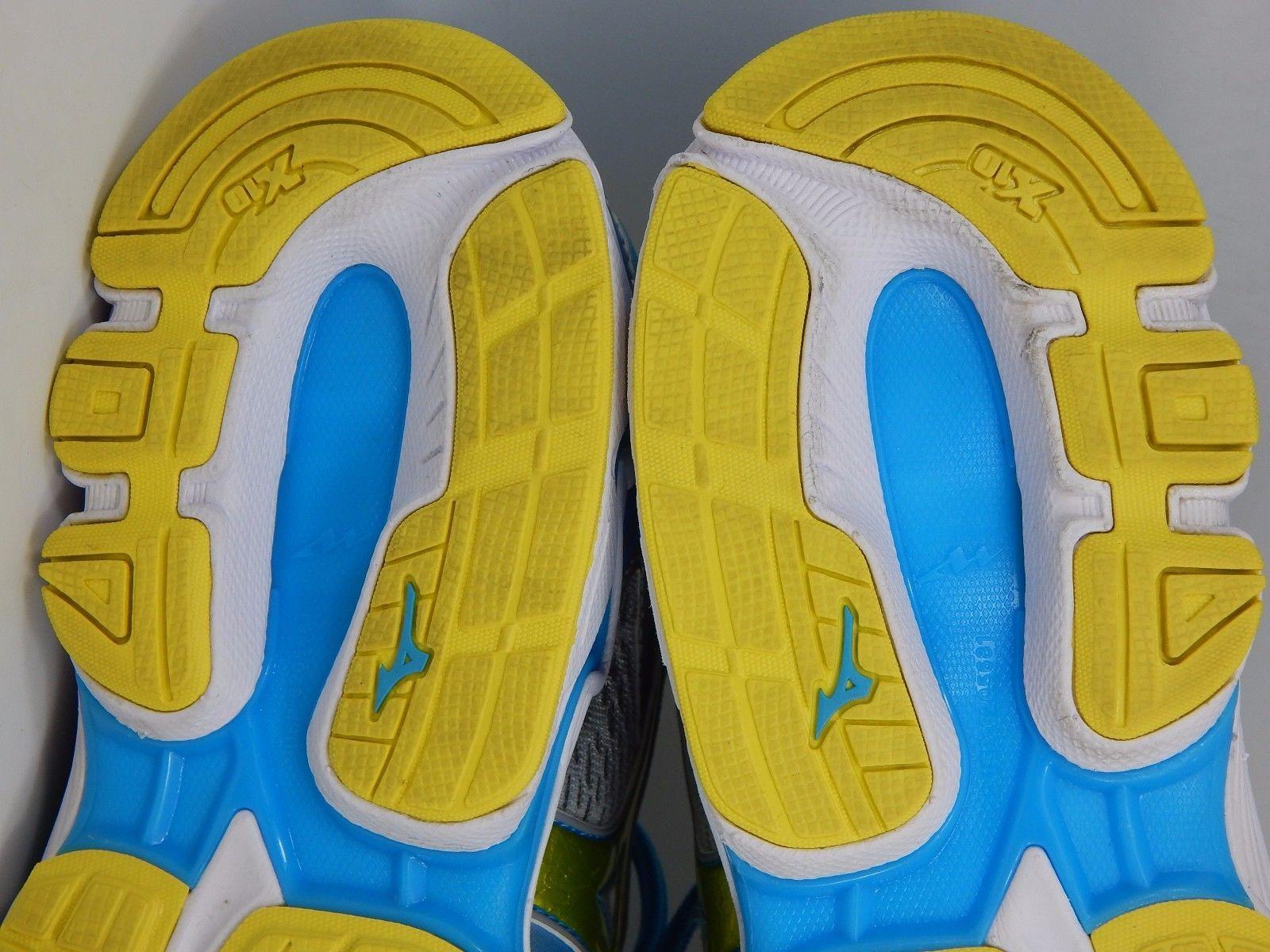 Mizuno Wave Inspire 13 Women's Running Shoes Sz US 11.5 M (B) EU 43 Silver Blue