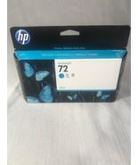 GENUINE HP 72 Cyan Ink C9371A, Warranty Expiration Date NOV 2014 - $27.72