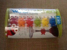 Joie MSC Wine Watchers Thermoplastic Rubber Wine Charms - Set of 6 - $8.95