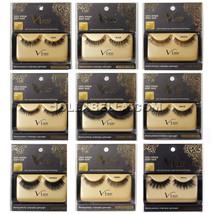 i Envy V-Luxe 100% Virgin Remy Hair Eyelash False Eye Lashes Strip Adhes... - €5,41 EUR