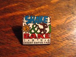 Desert Empire Fair Lapel Pin - Vintage 1996 Ridgecrest CA USA Shake & Ba... - $19.79