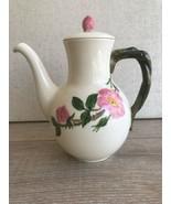 "Franciscan Desert Rose Tall Teapot California Mark w/ Lid 9"" - $148.49"