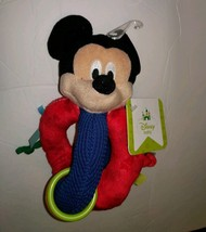 Mickey Mouse Rattle toy by Disney Baby - $7.25