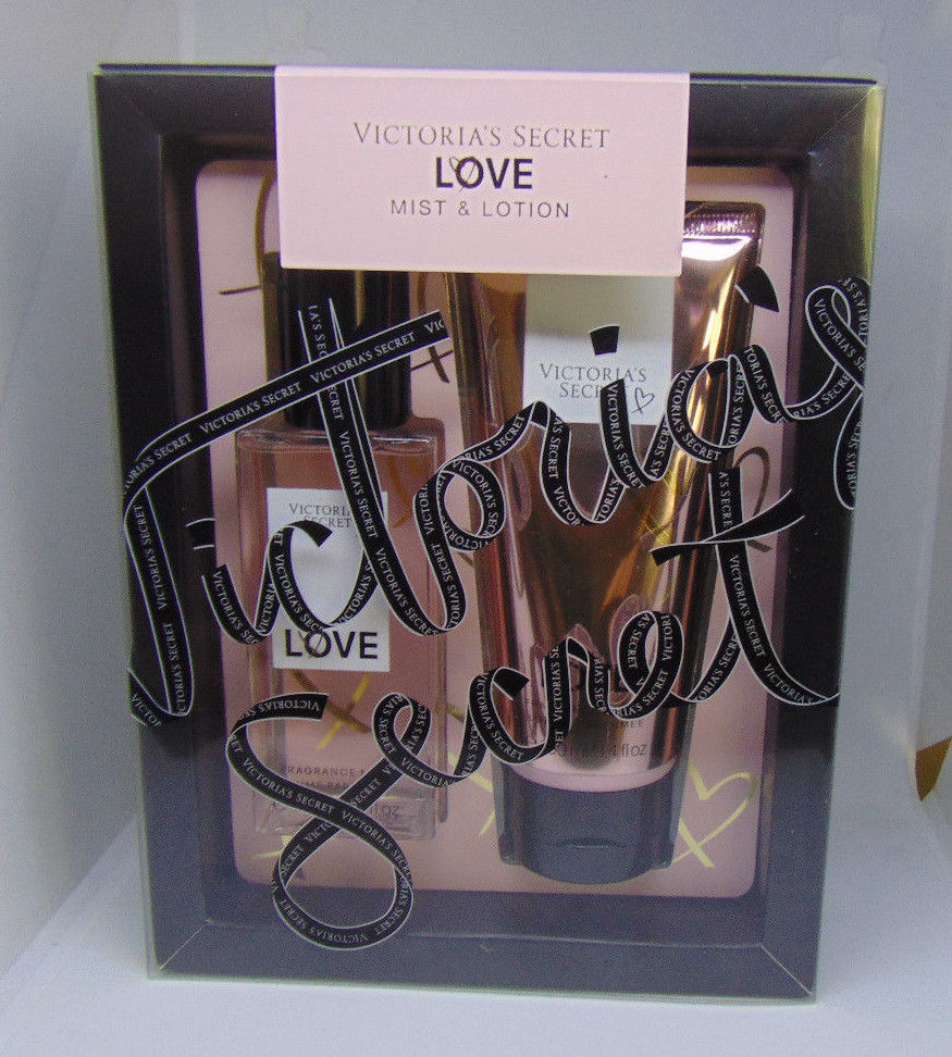 Primary image for VICTORIA'S SECRET LOVE Fragrance Mist & Body Lotion NIB