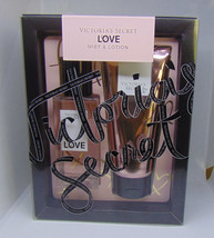 VICTORIA'S SECRET LOVE Fragrance Mist & Body Lotion NIB - $29.60