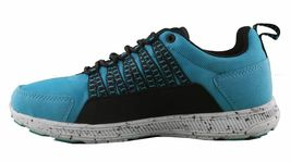 Supra Owen Turquoise Black Suede Running Cross-trainer Skateboarding Shoes NIB image 4