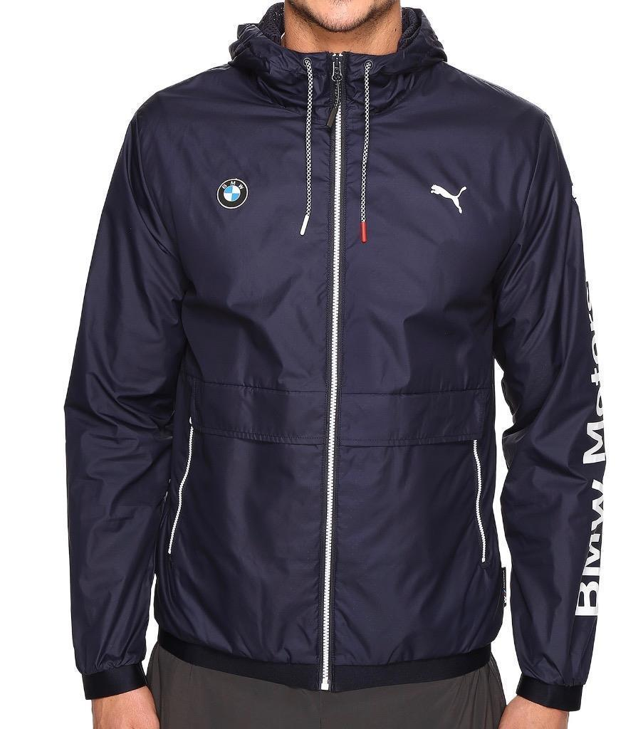 Puma Bmw Motorsport Men's Premium MSP Lightweight Jacket Team Navy Blue 57278001