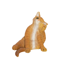 Vintage Creations by Carole Cat Figurine Scratching Ear - $19.99