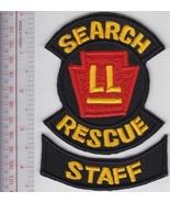 US Civil Air Patrol CAP Ranger School Search & Rescue Staff Rocker USAF ... - $10.99