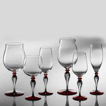 Nason Moretti Divini Bordeaux Vin Calice Murano Verre DIVINI03 Neuf en Boîte image 4
